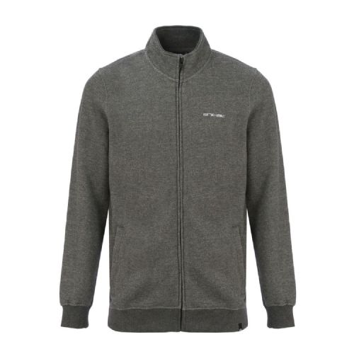 ANIMAL MENS JACKET.NEW LARMA GREY ZIPPED TOP / ZIP UP TRACK FLEECE 7W 88 U20